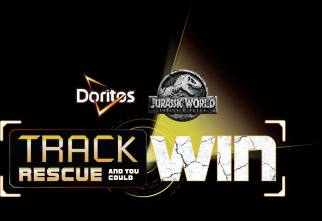 Doritos Jurassic World Track Rescue and You Could Win Contest - Chance To Win Trip To Costa Rica, 1,500 Movie Passes, Adventure Pack