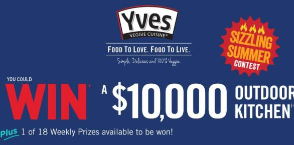 Yves Sizzling Summer BBQ Contest – Stand Chance to Win Outdoor Kitchen Or $10,000 CDN Cash