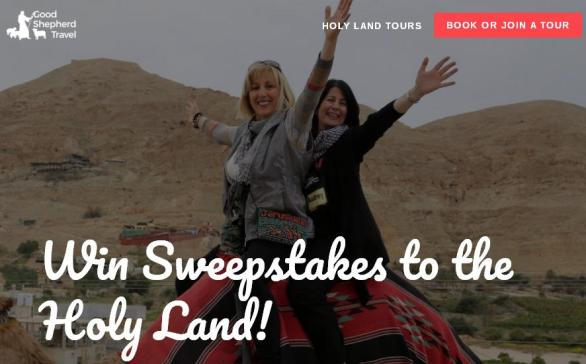 The Holy Land Sweepstakes – Stand Chance To Win A Free Trip To The Holy Land