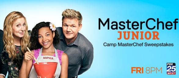 MasterChef Junior Camp MasterChef Sweepstakes – Win Chance To Attend Camp MasterChef In Kent, $500 Gift Cards