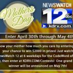 KDRV Mother's Day Giveaway – Stand Chance To Win $2000 in Prizes