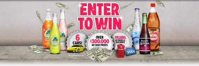 Novamex Uncap The Jackpot Instant Win Game - Chance To Win Over $300,00 Cash Prizes