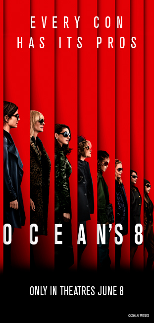 ELLE Canada Ocean's 8 Contest - Enter To Win A Trip For Two To The Screening Of Ocean's 8 in Toronto