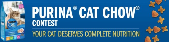 Purina Cat Chow Contest - Enter To Win $5,000 prizes And 1 year of Purina Cat Chow