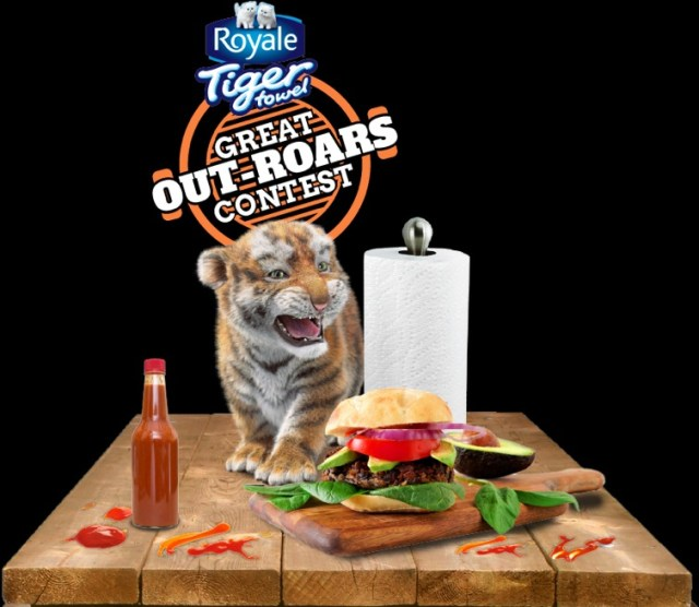 Royale Tiger Towel Contest - Win $5,000.00 CDN Pre-Paid Gift Card, $1.00 CDN Coupon