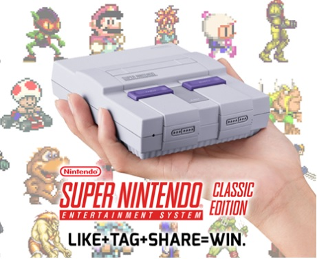 SNES Classic Edition Mini Console In The New Shopville Giveaway – Stand Chance to Win A SNES Classic Edition Mini Console Prize