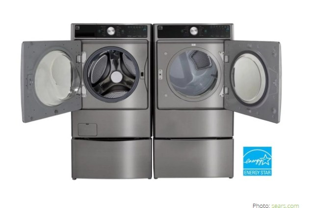 Bob Vila's Kenmore Washer & Dryer Set Giveaway-Enter To Win A Washing Machine, Dryer