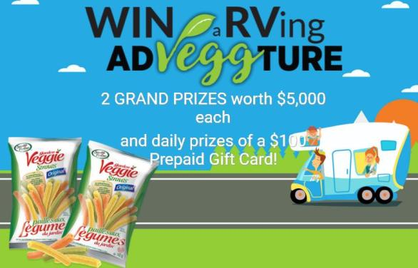 Sensible Portions 2018 Summer Contest – Win $5000 Worth Grand Prizes, $100 Prepaid Gift Card