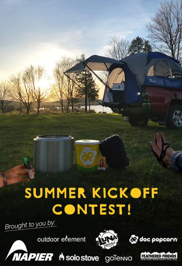 Summer Kickoff Contest - Chance To Win Sportz Truck Tent, Popcorn, Solo Stove Bonfire