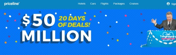 The Priceline.com Tweniversary 20 Days of Deals Sweepstakes - Chance to Win A Walt Disney World Resort Vacation