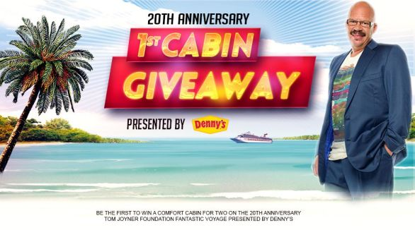 Denny's Cabin Giveaway- Chance To Win A Carnival Cruise Ship, Hotel Stay