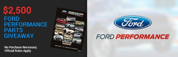 Carlisle Events Ford Performance Parts Giveaway - Chance To Win $2,500 Gift Certificate