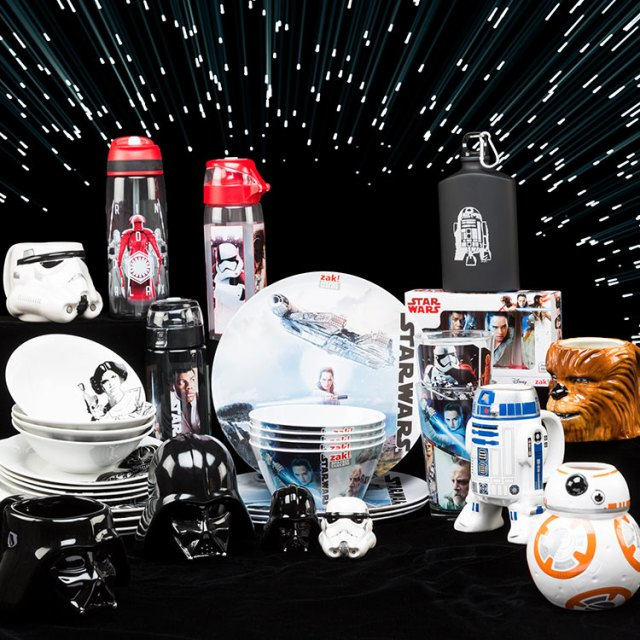 Zak Designs Star Wars Sweepstakes - Chance To Win A Grand Prize Package, Salt-Pepper Shakers, Sculpted Mug, Soup Bowls