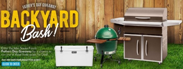 John Soules Foods Father's Day Giveaway – Stand Chance to Win Elite Pellet Grill