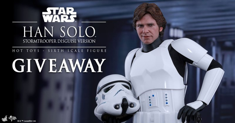 Sideshow Collectibles Han Solo Giveaway - Chance To Win Hot Toys Han Solo Sixth Scale Figure