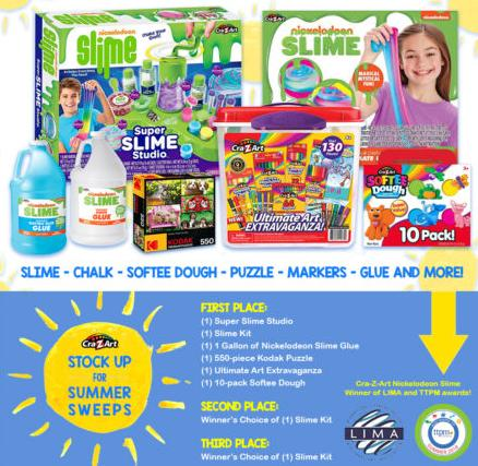 Stock Up For Summer Sweepstakes – Win Nickelodeon Slime Kit