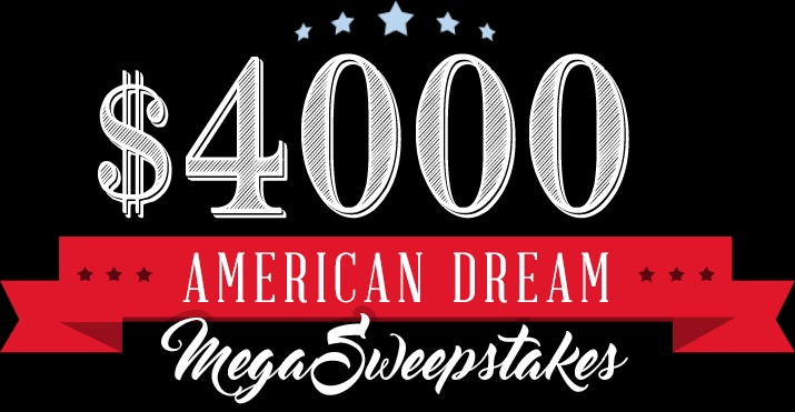 American Dream Mega Sweepstakes - Enter To Win $3,000 Cash Prize