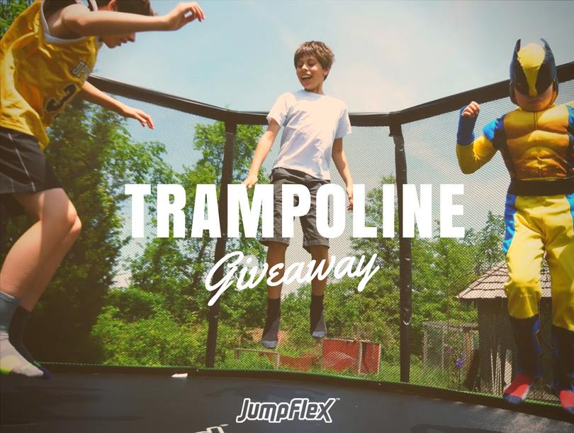 Jumpflex Trampoline Giveaway - Stand A Chance To Win Free 12ft Trampoline
