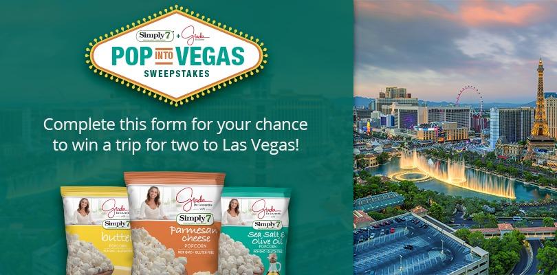 Simply 7 & Giada POP into Vegas Sweepstakes - Chance To Win A Trip To Las Vegas