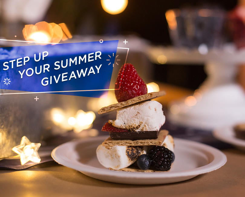 Step up your Summer Giveaway - Enter To Win Prize package And gift Card