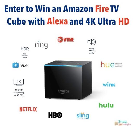 Amazon Fire TV Cube With Alexa & 4K Ultra HD Giveaway – Stand Chance To Win An Amazon Fire TV Cube