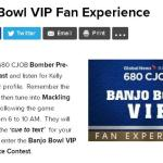Banjo Bowl VIP Fan Experience Contest – Stand Chance to Win Tickets To The Banjo Bowl