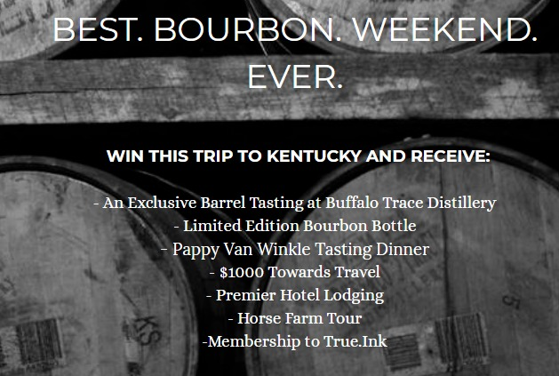 Be a Bourbon Master Sweepstakes - Chance To Win A Trip To Kentucky