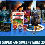 DC Comics Instant Super Fan Sweepstakes – Stand Chance To Win Grand Prize