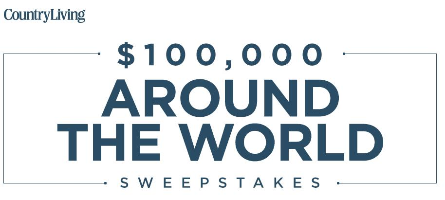 Country Living $100,000 Dream Big Sweepstakes – Stand Chance To Win $100,000 Cash