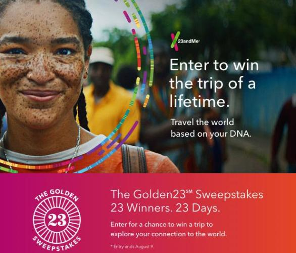 The Golden23SM Sweepstakes – Stand Chance To Win A Trip Prize Package