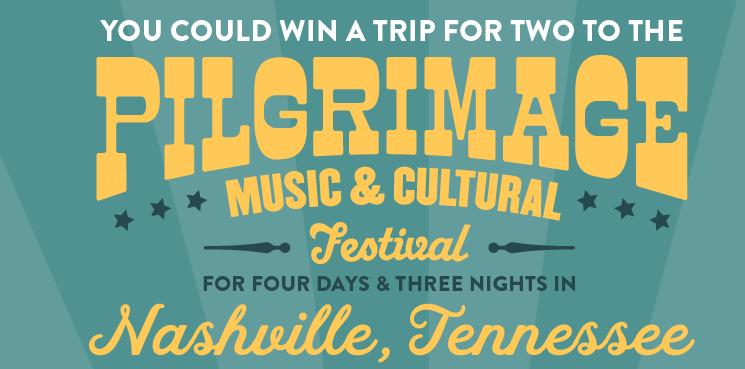 The Kirkland's Pilgrimage Festival Sweepstakes – Stand Chance to Win A Trip To Nashville