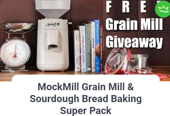 Stella Culinary MockMill Grain Mill & Sourdough Bread Giveaway – Stand Chance To Win Mockmill Grain Mill Package