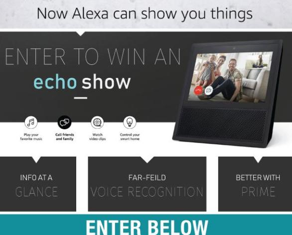 Tour Louisiana Amazon Echo Show Monthly Contest – Stand Chance To Win Amazon Echo Show