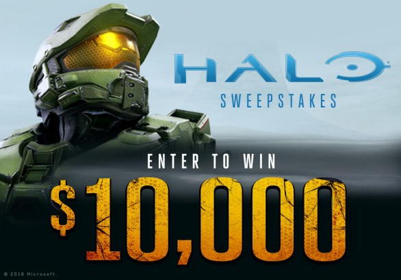 Spirit Halloween's Halo Sweepstakes - Enter To Win $10,000 Cash