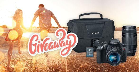 Bedford Giveaway - Stand A Chance To Win Canon T6 Two Lens Kit