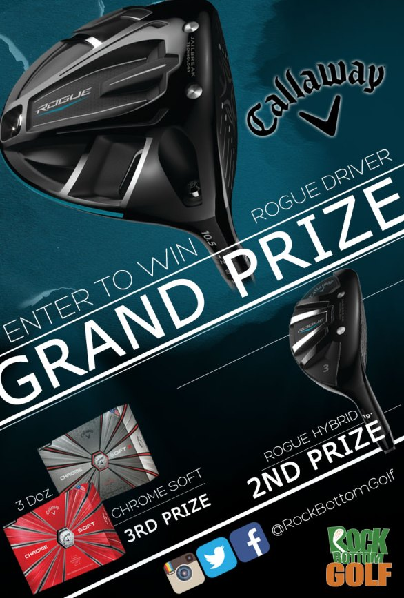 Callaway Giveaway - Chance To Win A Free Callaway Rogue Driver And Rogue Hybrid