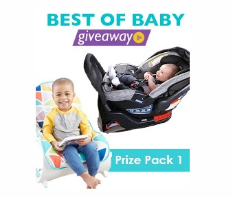 Best of Baby 2018 Giveaway - Enter To Win A Car Seat, Bouncer And High Chair