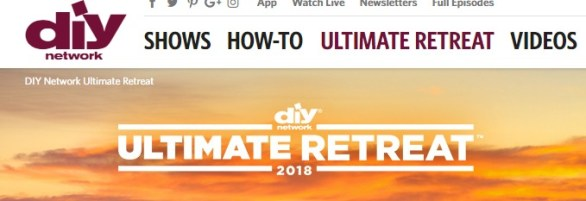 DIY Network Ultimate Retreat House Sweepstakes - Enter To Win Home Furnishings, Fixtures, Artwork And Cash