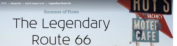 KLM iFly Magazine Explore The Legendary Route 66 Sweepstakes - Chance To Win A Trip And Tickets