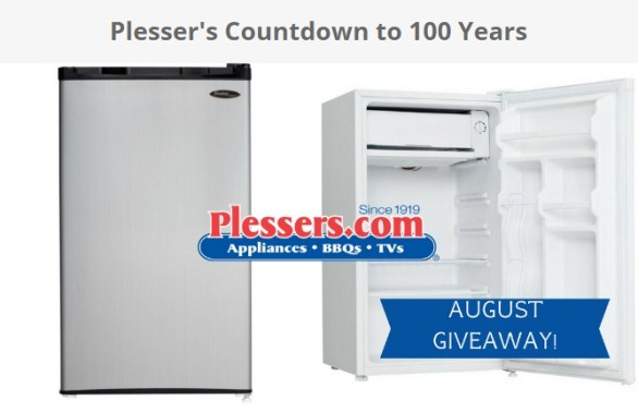 Plesser's Countdown To 100 Years Giveaway - Chance To Win Danby Compact Refrigerator