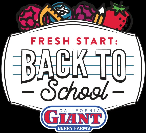 California Giant Berry Farms Back To School Sweepstakes - Enter To Win $250.00 Visa Gift Cards