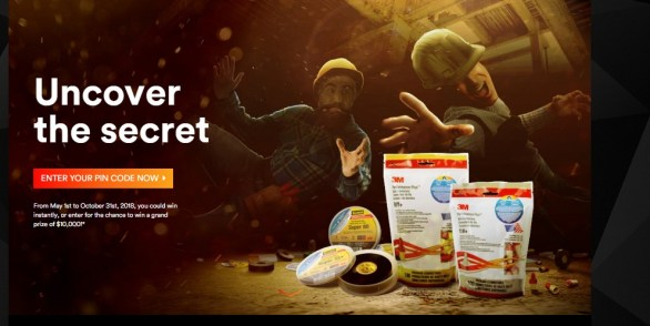 3M Uncover the Secret Contest - Enter To Win Electrical Products Gift Packs And T-shirts