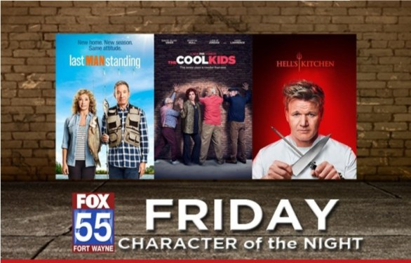 FOX 55 Friday Character Of The Night Contest - Chance To Win Stadium Table with Chairs And Drink Dispense