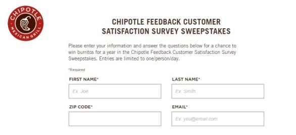 Chipotle-Feedback-Customer-Satisfaction-Survey-Sweepstakes