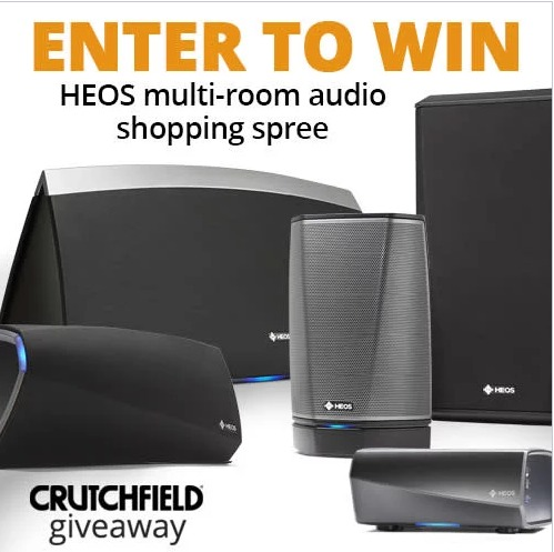 HEOS Shopping Spree sweepstakes - Chance To Win Multi Room Audio Shopping Spree