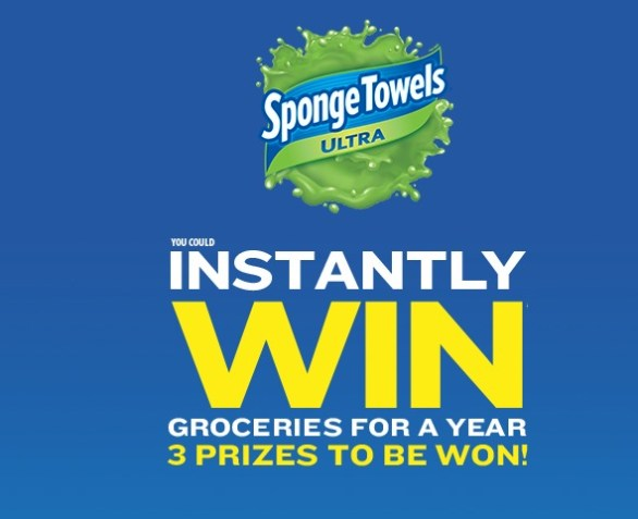 Sponge Towels Contest - Stand A Chance To Win Groceries For A Year