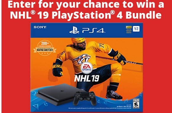 Tribute.ca Contest - Stand To Win A NHL 19 Play Station 4 Bundle