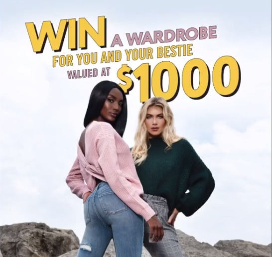 Urban Planet Contest - Enter To Win A Wardrobe For You And Your Bestie