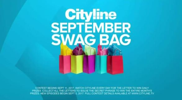 Cityline September Swag Bag Contest - Stand To Win A Vitamix Blender And A Ballarini Frypan