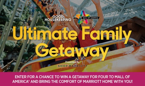GM Mall of American Ultimate Family Getaway Sweepstakes - Chance To Win A Three-night/ Four day Stay At JW Marriott Mall